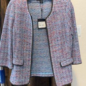 St. John tweed jacket NWT